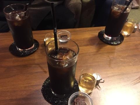 喫茶 1er ぷるみえ  (高菜と鶏そぼろご飯中華あんかけソース)_e0115904_15171366.jpg