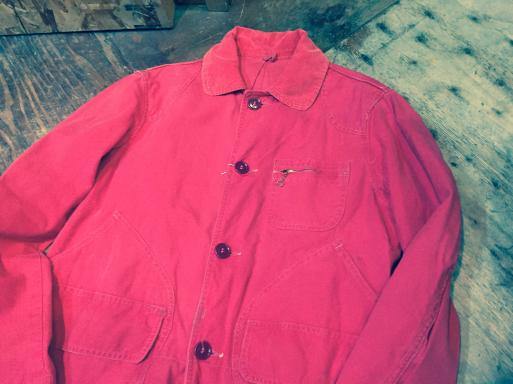 3月26日(日)入荷!Red ハンティング jacket!_c0144020_21240514.jpg