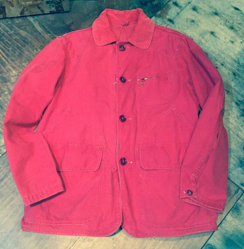 3月26日(日)入荷!Red ハンティング jacket!_c0144020_21240521.jpg
