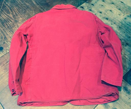 3月26日(日)入荷!Red ハンティング jacket!_c0144020_21240605.jpg