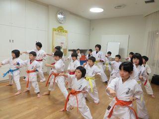 土曜日空手 宮の沢教室・麻生道場_c0118332_22515321.jpg