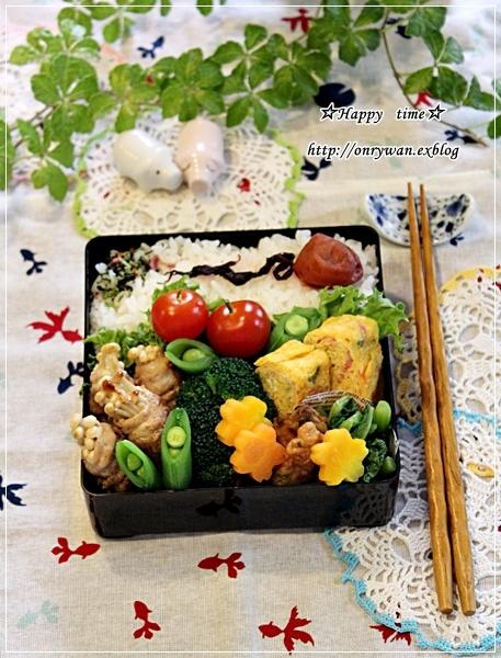 えのきで肉巻き弁当とBLTサンドと水仙♪_f0348032_18150050.jpg