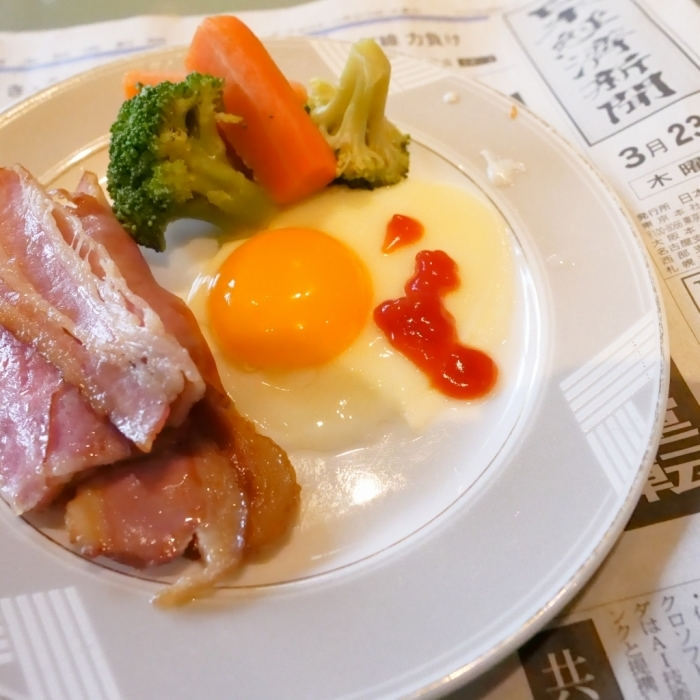 ホテルのおめざ ニューオータニ 大阪_f0050534_23101911.jpg