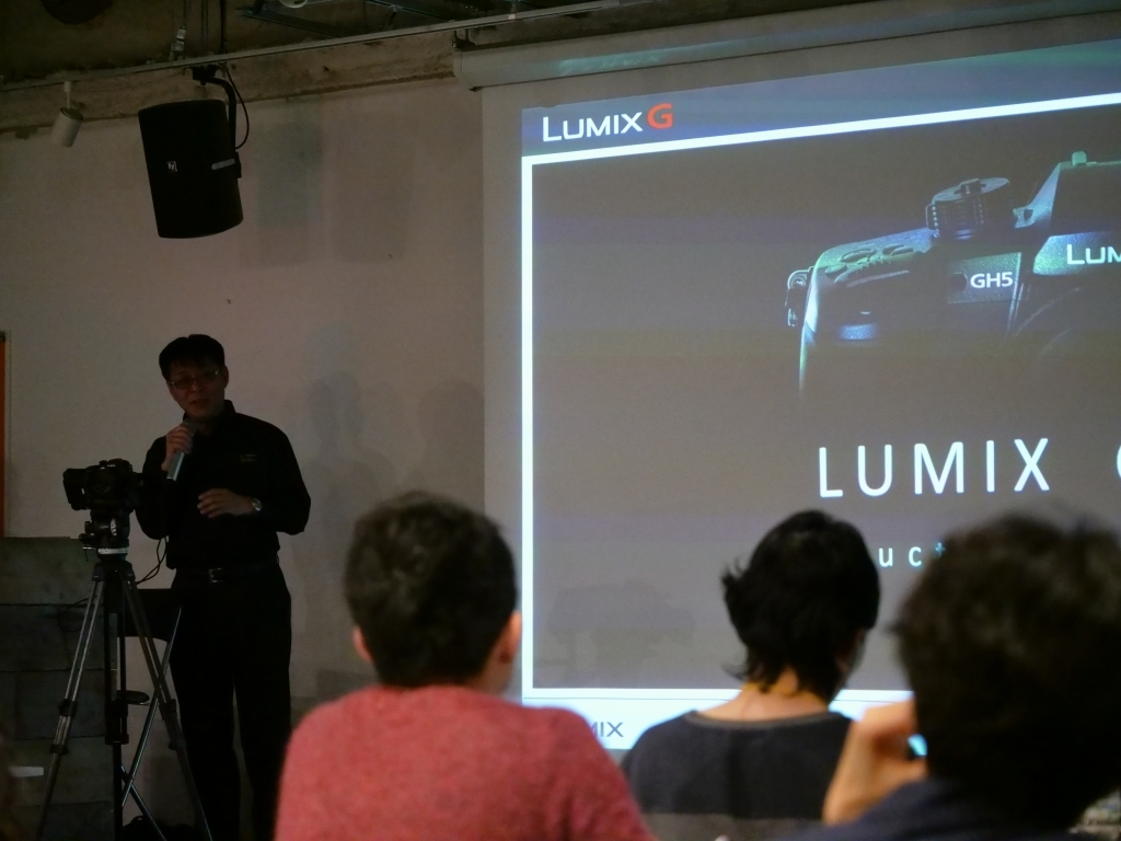 LUMIX GH5& Yohji yamamoto パリコレ 報告イベント _f0050534_23395196.jpg