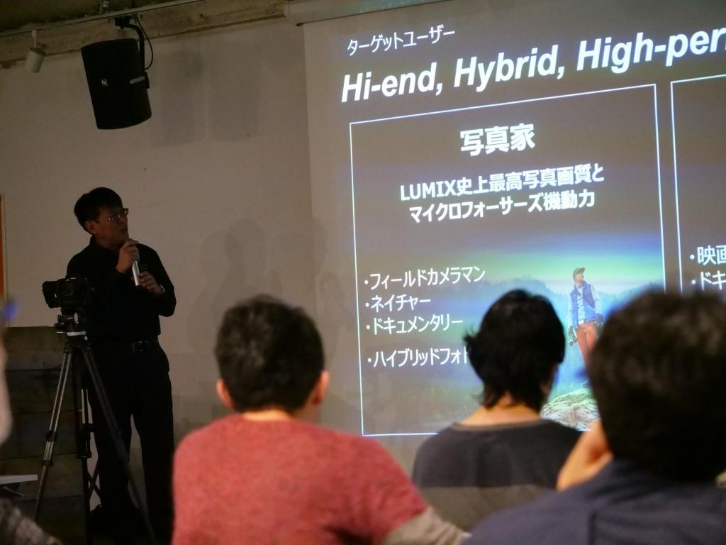 LUMIX GH5& Yohji yamamoto パリコレ 報告イベント _f0050534_23395205.jpg