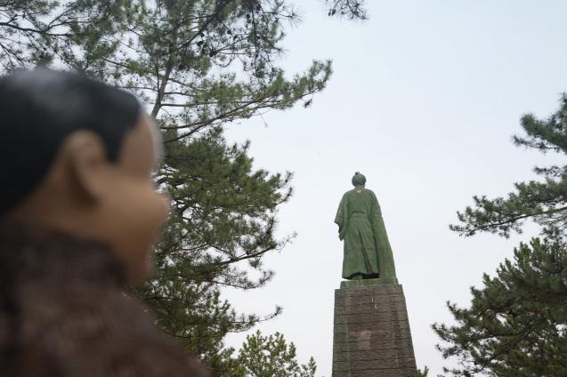 高知の旅:その2〜桂浜で龍馬アニキに会う_e0369736_21293719.jpg