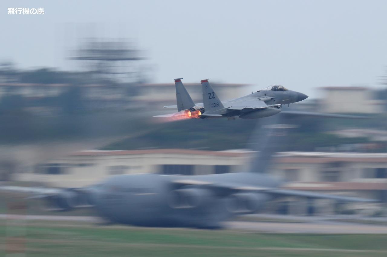 アフターバーナー  F-15  アメリカ空軍_b0313338_11284106.jpg
