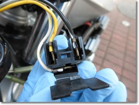 ヘッドライト配線の修正_c0147448_16334137.jpg