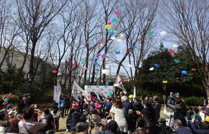 東京2020オリンピック・パラリンピックフラッグツアーin小平_f0059673_16173345.jpg