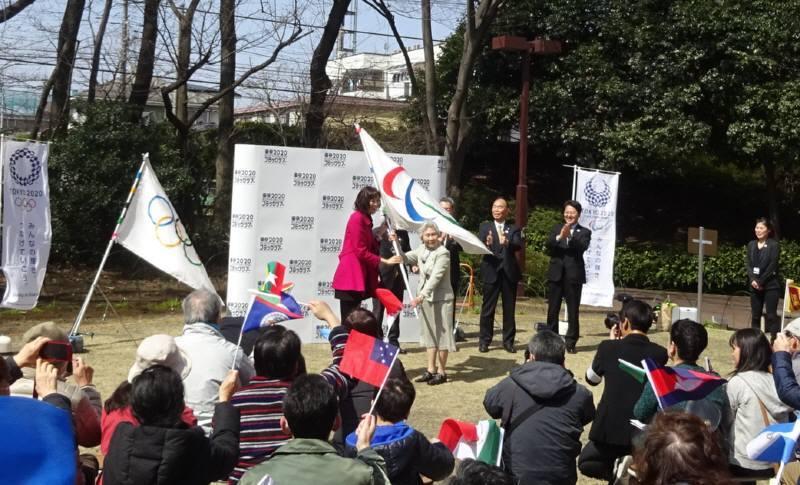 東京2020オリンピック・パラリンピックフラッグツアーin小平_f0059673_16180608.jpg