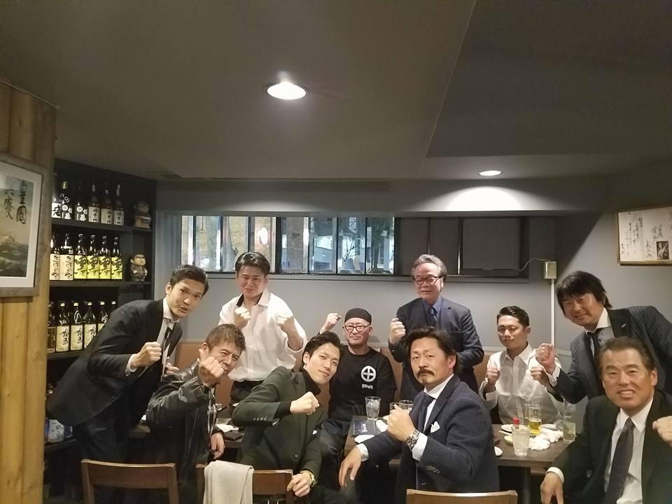 稲葉塾長の稲葉塾男飲み会(熱い男の集まり)に出席させていただきました。_c0186691_19254186.jpg