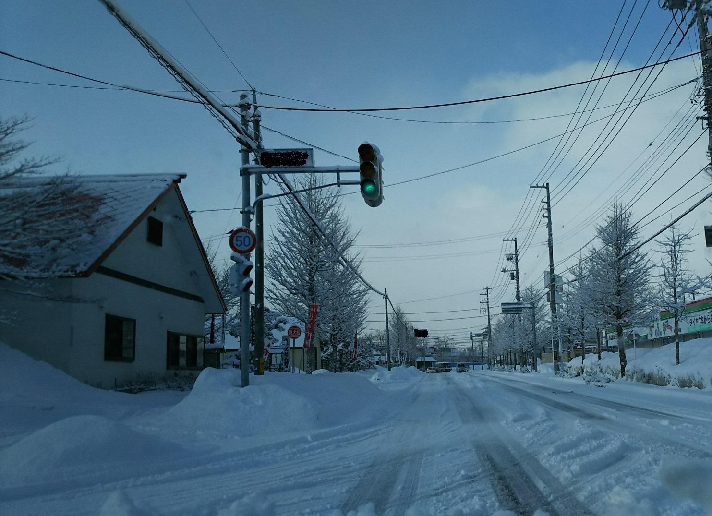 雪・・・降りました。_b0343293_10535716.jpg