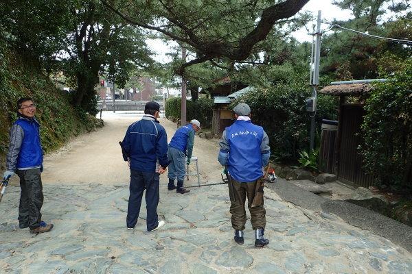 名勝和歌の浦クリーンアップ 玉津島神社_c0367107_13480960.jpg