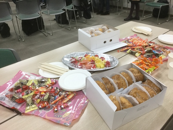 日曜朝教室 茶話会_e0175020_2118526.jpg
