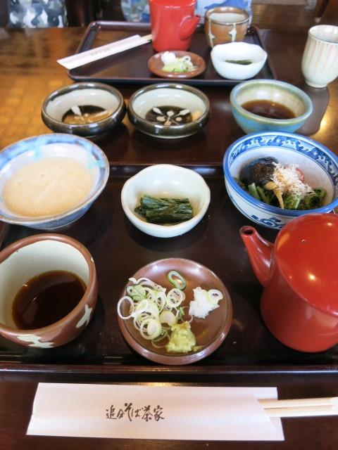 追分そば茶家 * 山菜天ぷら盛り合わせがすごかった~♪_f0236260_22035971.jpg