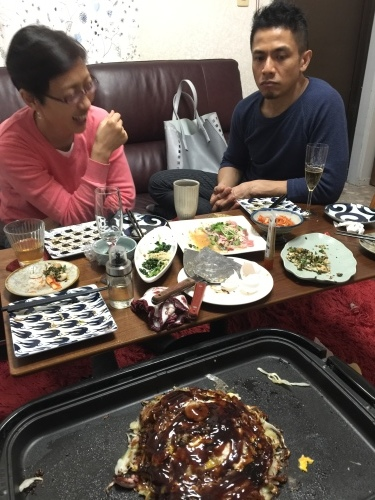 Okonomiyaki night._c0153966_23253689.jpeg