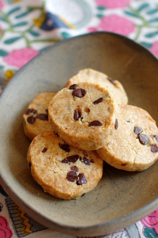 シラネ全粒粉100% 和三盆のチョコチップクッキー_c0110869_10594776.jpg
