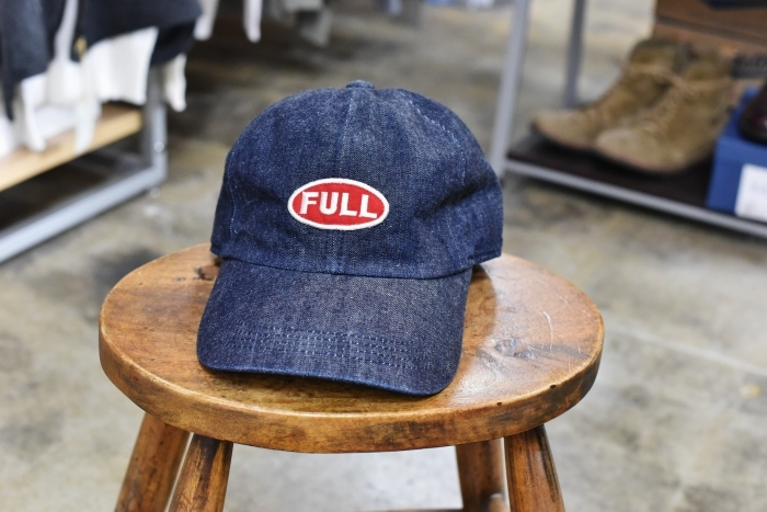 FULL COUNT ・・・ DENIM CAP 「FULL」CAP と 「F」CAP!★!_d0152280_17173616.jpg
