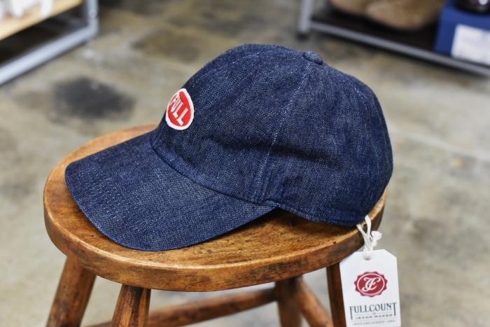FULL COUNT ・・・ DENIM CAP 「FULL」CAP と 「F」CAP!★!_d0152280_17180226.jpg