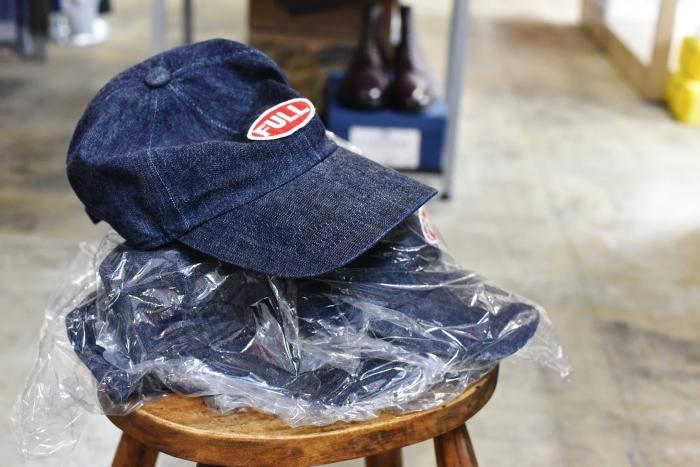 FULL COUNT ・・・ DENIM CAP 「FULL」CAP と 「F」CAP!★!_d0152280_17182531.jpg