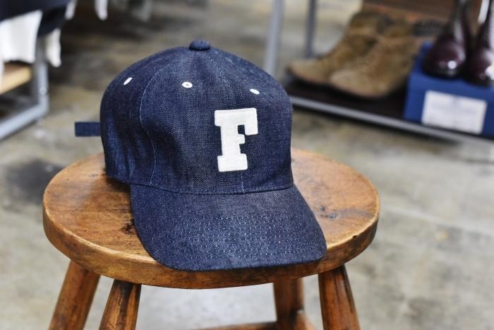 FULL COUNT ・・・ DENIM CAP 「FULL」CAP と 「F」CAP!★!_d0152280_17185809.jpg