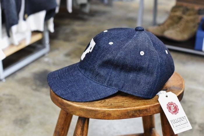 FULL COUNT ・・・ DENIM CAP 「FULL」CAP と 「F」CAP!★!_d0152280_17192449.jpg