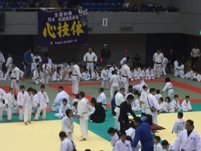 2017 馬場道場九州少年柔道錬成会 1日目_b0172494_11030603.jpg