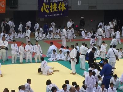 2017 馬場道場九州少年柔道錬成会 1日目_b0172494_11030656.jpg