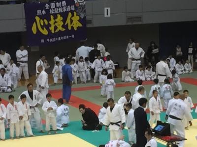 2017 馬場道場九州少年柔道錬成会 1日目_b0172494_11030698.jpg