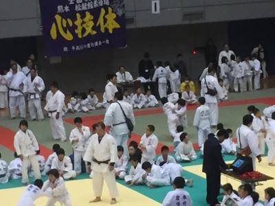 2017 馬場道場九州少年柔道錬成会 1日目_b0172494_11030707.jpg