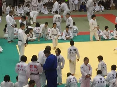 2017 馬場道場九州少年柔道錬成会 1日目_b0172494_19395364.jpg