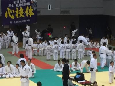 2017 馬場道場九州少年柔道錬成会 1日目_b0172494_20073359.jpg