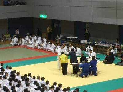 2017 馬場道場九州少年柔道錬成会 1日目_b0172494_20073433.jpg