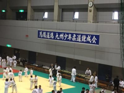 2017 馬場道場九州少年柔道錬成会 1日目_b0172494_22261593.jpg
