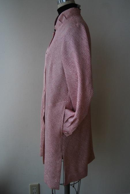 着物リメイク・絞りの着物からブラウスジャケット_d0127925_23422039.jpg