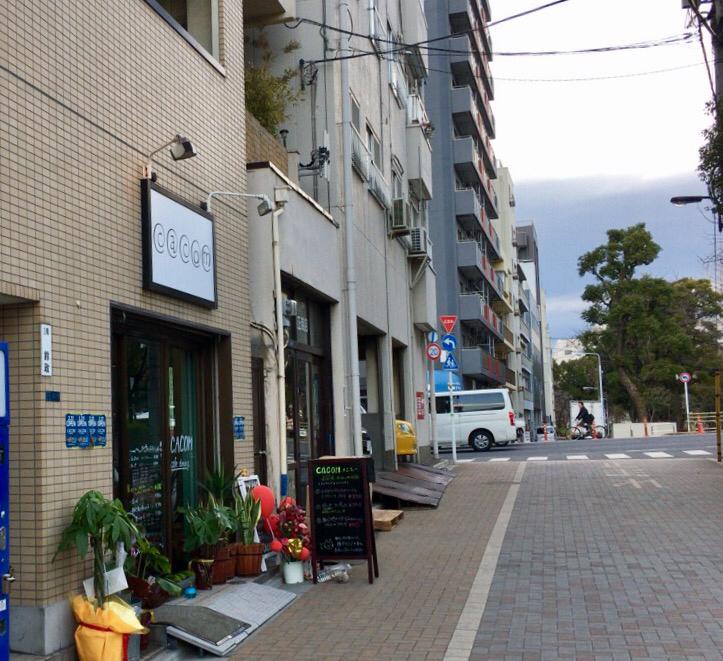 花川戸「Dining &Cafe Bar cacom」_d0011635_16363726.jpg