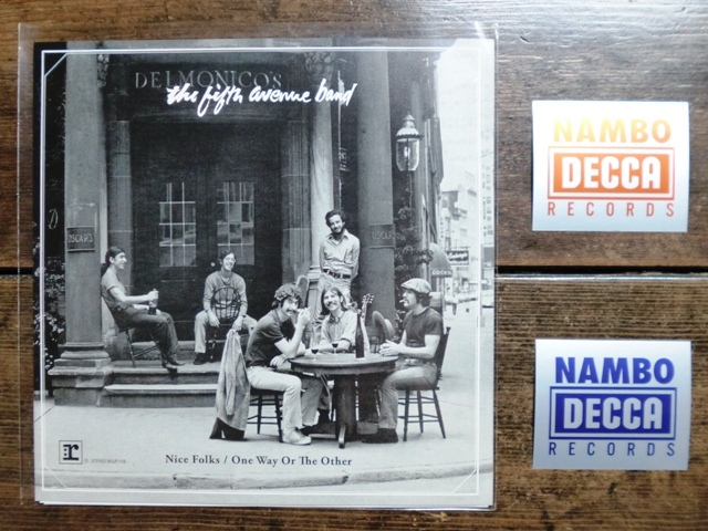 the fifth avenue band と NAMBO DECCA RECORDS_e0230141_21252894.jpg