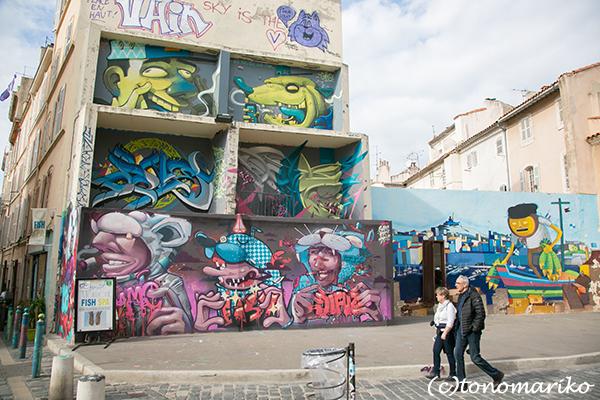 マルセイユで見つけた素敵な街角アートたち_c0024345_03541005.jpg