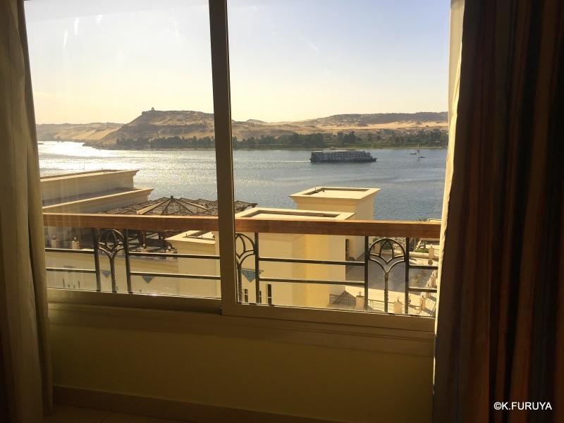 """ナイル川を望む""""ヘルナン・アスワン・ホテル""""_a0092659_14490691.jpg"""