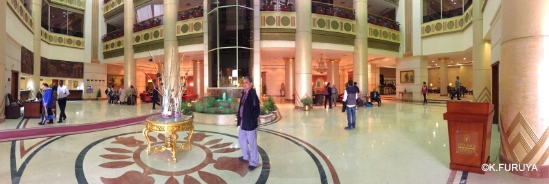 """ナイル川を望む""""ヘルナン・アスワン・ホテル""""_a0092659_15001161.jpg"""