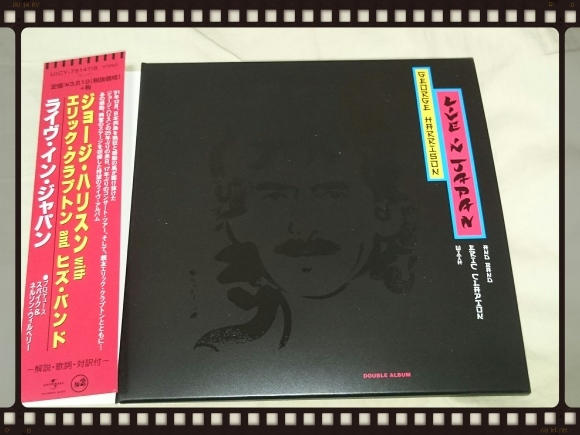GEORGE HARRISON with ERIC CLAPTON and HIS BAND / LIVE IN JPAN 紙ジャケ_b0042308_16513667.jpg