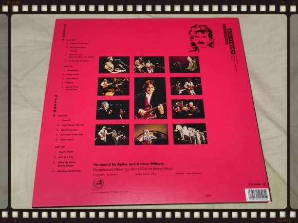 GEORGE HARRISON with ERIC CLAPTON and HIS BAND / LIVE IN JPAN 紙ジャケ_b0042308_16514322.jpg