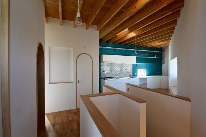 梁材あらわしがリズミカルな箕面の家ー pure + simple.design_d0111714_22001706.jpg