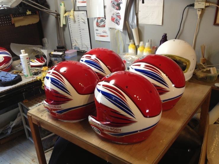TLC 2014ダカールラリー用ヘルメット_e0196826_11041363.jpg