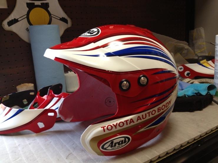 TLC 2014ダカールラリー用ヘルメット_e0196826_11044024.jpg