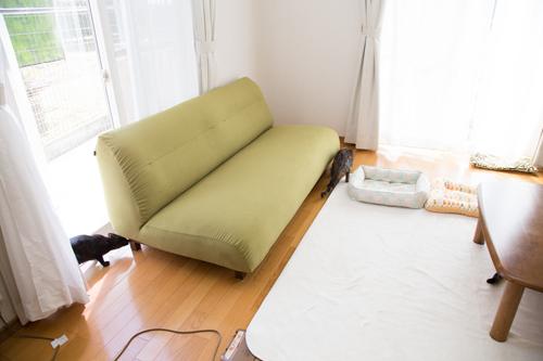 新しいソファがやってきた☆搬入編_d0355333_09102955.jpg