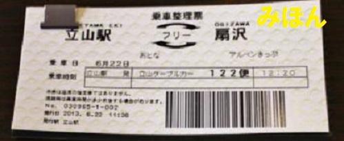 アルペンルートとトロッコ電車の違い〜乗車券の購入〜_a0243562_09075731.jpg