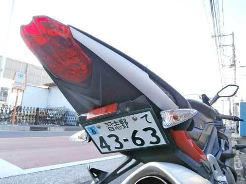 S田サン号 デイトナ675Rの仕様変更が完成~~(^O^)/(Part3)_c0086965_00423718.jpg