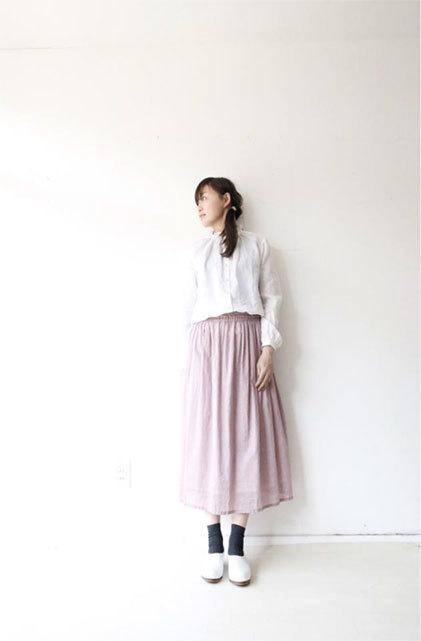 綿ローンギャザースカート_f0215708_17282907.jpg