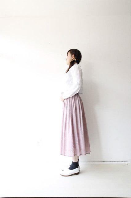 綿ローンギャザースカート_f0215708_17283261.jpg